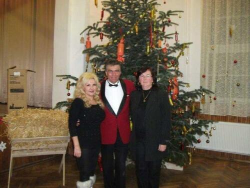 Karácsonyi Est Tóth Évával és Leblanc Győzővel 2011.12.13